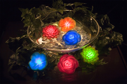 Led light up flowers great american merchandise events for Light up flower lamp